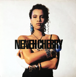 Neneh Cherry ‎- Raw Like Sushi (LP) (VG/G-VG)